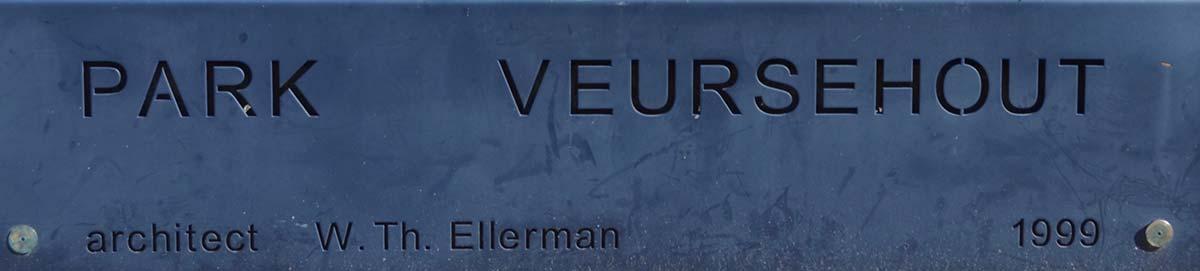 Park Veursehout Leidschendam Plaat Ellerman